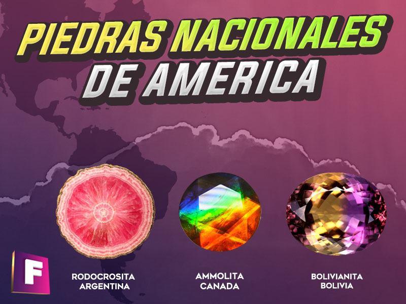 conozca los minerales y gemas mas representativos del continente americano  - piedras nacionales de america