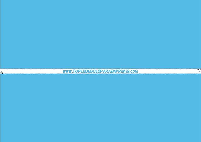 faixa lateral azul