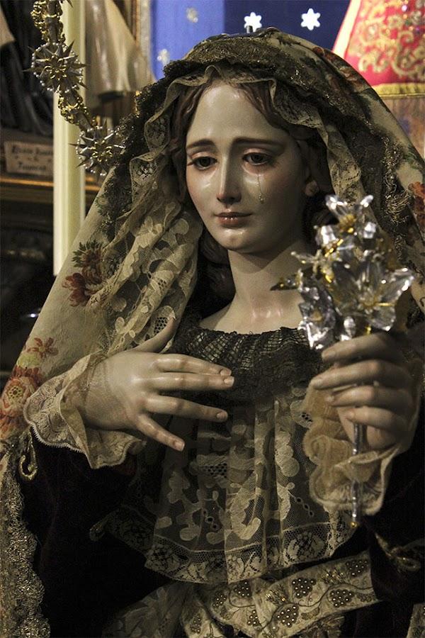 El imaginero Juan Bautista Jimenez presenta la Virgen del Alba