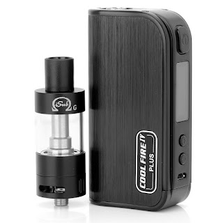 Coolfire IV box mod with iSub G tank
