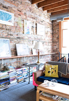 Change Of Scenery Exposed Brick Makes Me Smile