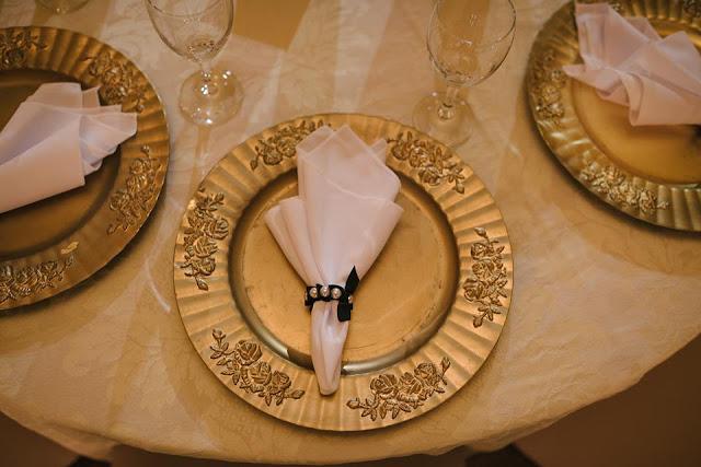 casamento real, rafaela e lucas, buffet, sousplat, porta guardanapo
