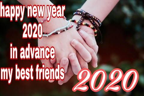 Happy New Year 2020 Advance Image