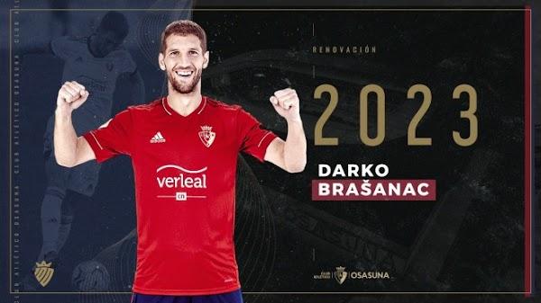 Oficial: Osasuna, renueva Brasanac hasta 2023