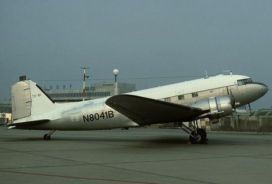 Desaparición del avión DC-3 ECT-025.