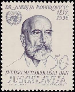 Andrija_Mohorovičić_1963_Yugoslavia_stamp
