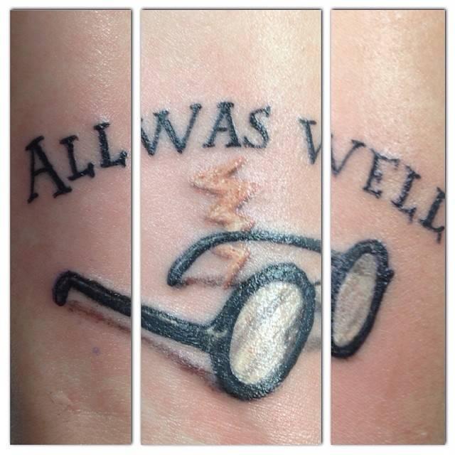 Tatuagens Inspiradas No Mundo Magico De Harry Potter Marte E