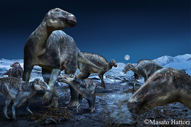 Arctic Edmontosaurus lives again - a new look at the 'caribou of the Cretaceous'