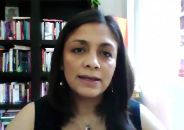 Tania Esmeralda Rocha Sánchez, de la Facultad de Psicología (FP) de la UNAM