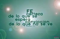 La fe en Dios alcanza grandes milagros