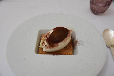 Tiramisu restaurant Il Carpaccio (8 -ème), blog Délices à Paris.