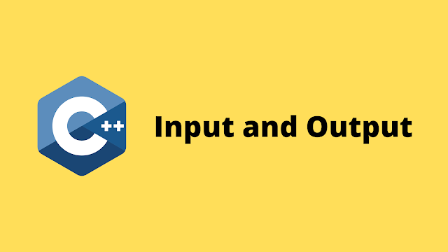HackerRank Input and Output solution in c++ programming