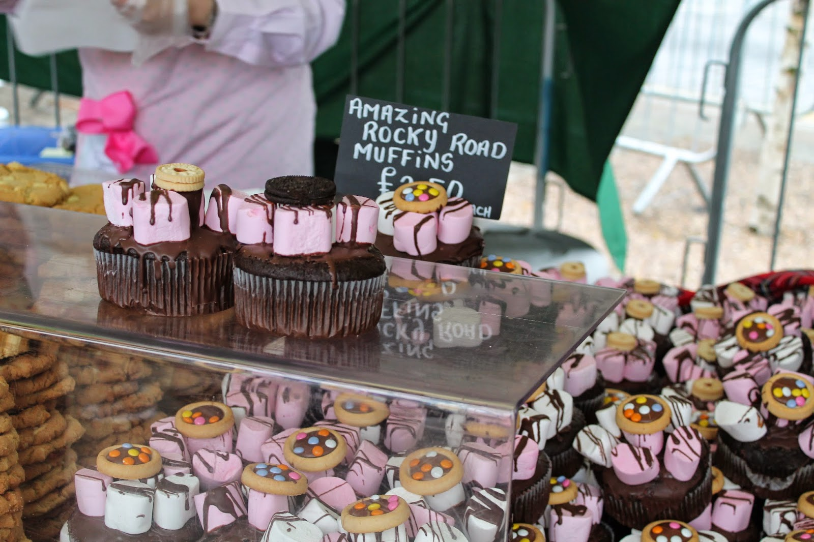 Bishop Auckland Food Festival 2014 - Rocky Road Chocolate Muffins