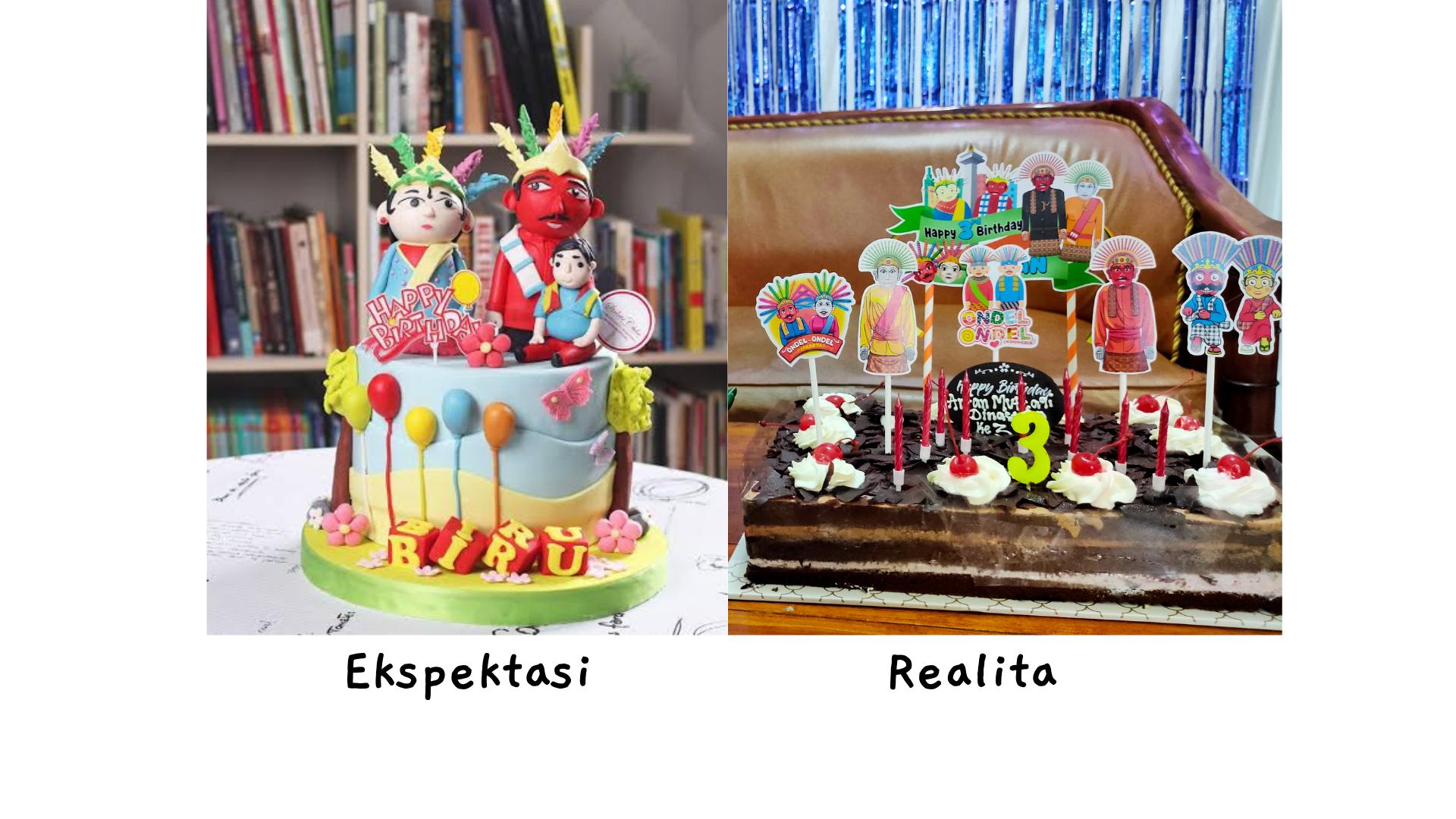 Kue Ulang Tahun Ondel-Ondel