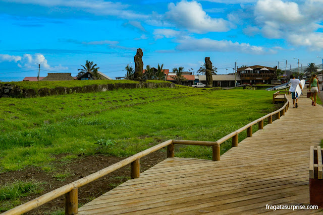 Orla de Hanga Roa, Ilha de Páscoa