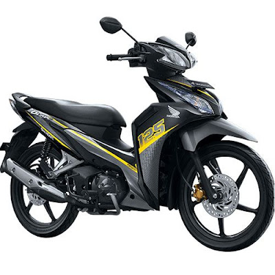 Honda Blade 125 FI R Sporty Yellow