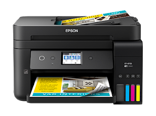 Epson ET-4750 printer driver and utility software