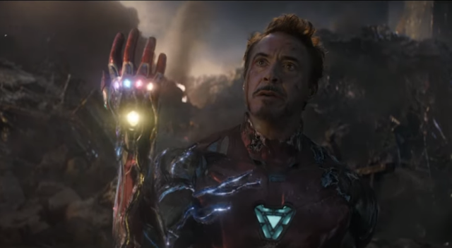 Arc reactor helped tony stark to withstand Snap in marvel's EndGame