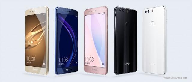 Huawei perkenalkan Honor 8 dengan kamera ganda 12MP, RAM 4GB