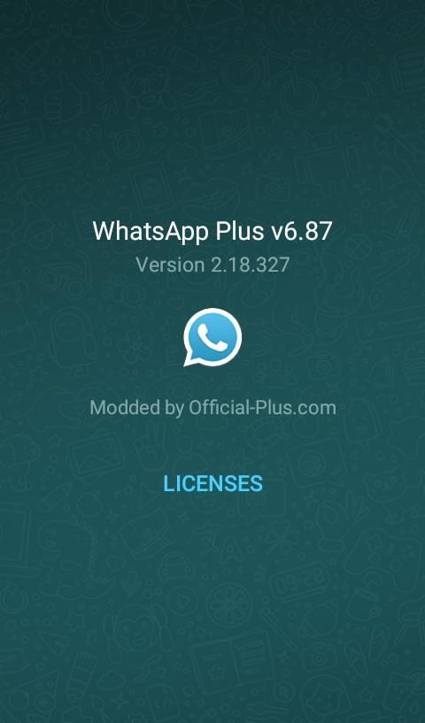 whatsapp plus 687 apk