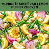 15-Minute Sheet Pan Lemon Pepper Chicken
