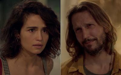 Érica (Nanda Costa) e Davi (Vladimir Brichta) em Amor de Mãe; moça terá problemas com namorado