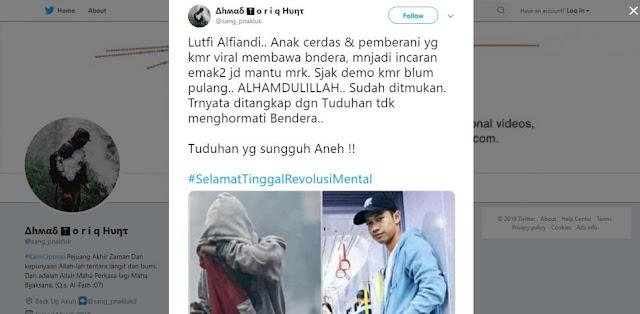 Polisi Tangkap Pemuda yang Fotonya Viral saat Rusuh Siswa STM di Sekitar DPR