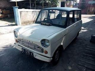 Mobil Antik Mazda Kotak Sabun B600 ..Jarang Ada Yang Punya