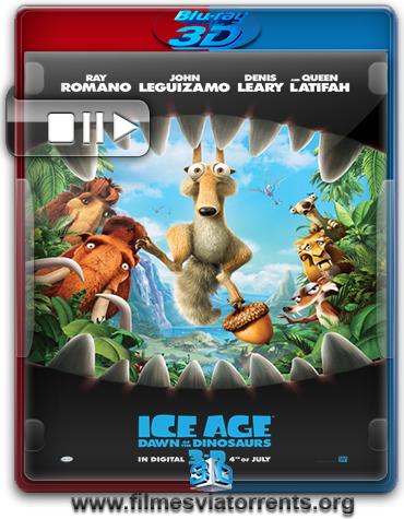A Era do Gelo 3 Torrent - BluRay Rip 1080p 3D HSBS Legendado (2009)