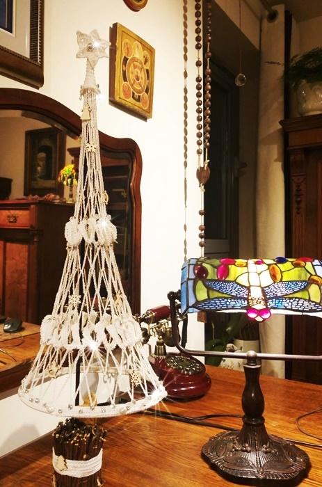 crochet christams tree