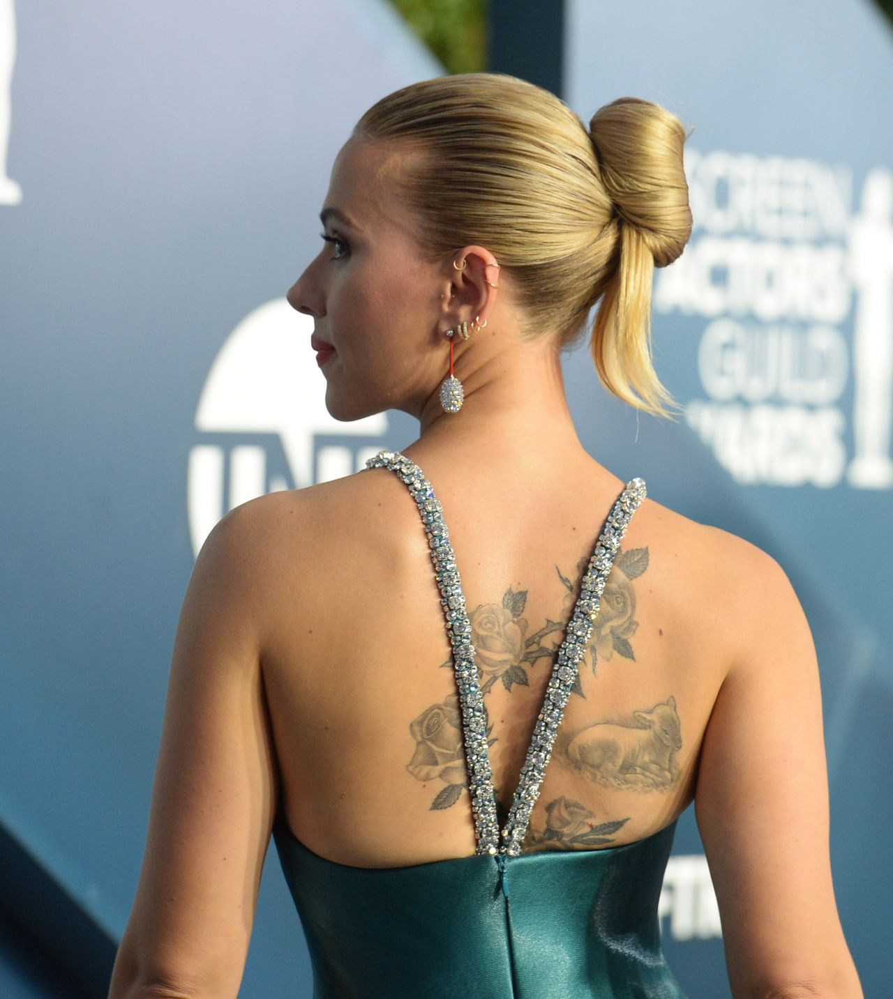 Scarlett Johansson - 26th Annual Screen Actors Guild Awards at the Shrine Auditorium in Los Angeles