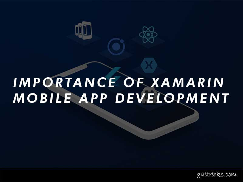 Importance Of Xamarin Mobile App Development