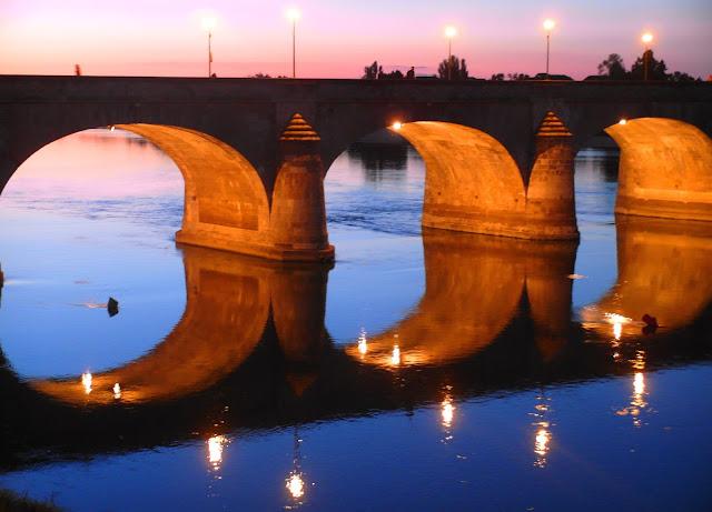 bro över Loire - Frankrike