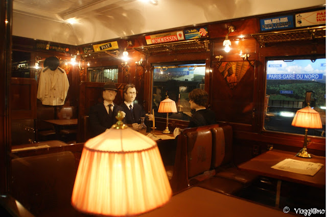 Mulhouse Museo Ferroviario- Interno carrozza
