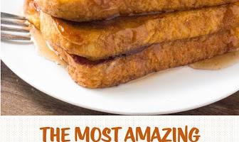 The Most Amazing Pumpkin French Toast