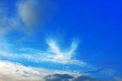 Ein Omen am Himmel...?