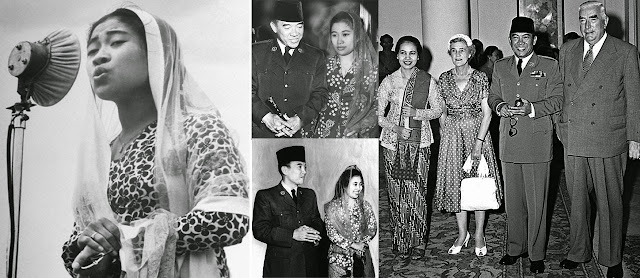 Foto Fatmawati istri sang proklamator