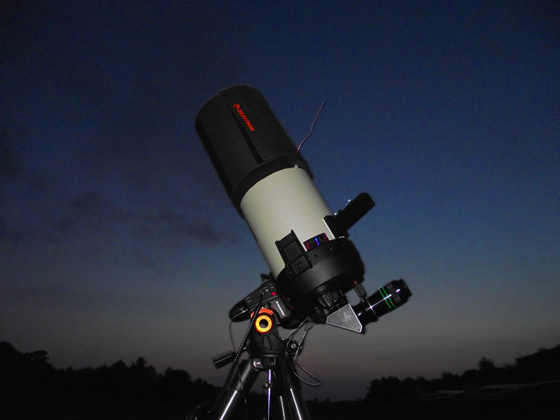 Uncle Rod's Astro Blog: A Celestron VX Comes to Chaos Manor South