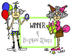 Winner at Catch the Bug (Bugaboo Stamps