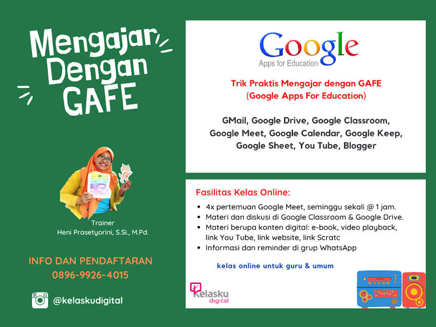 Mengajar dengan GAFE Google Apps For Education