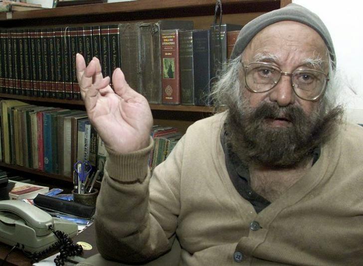 वरिष्ठ पत्रकार, सहित्यकार एवं व्यंगकार श्री खुसवंत सिंह