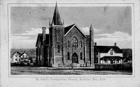St. Johns Church Medicine Hat Alberta