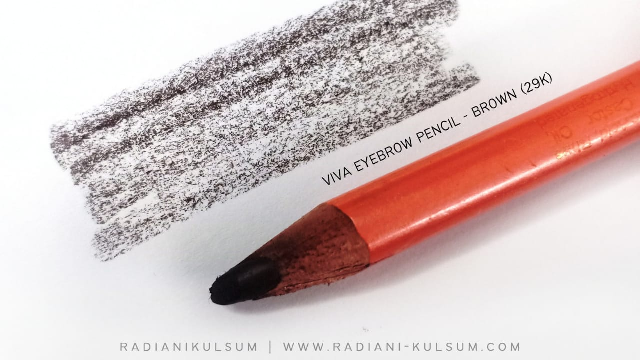 viva eyebrow pencil - brown