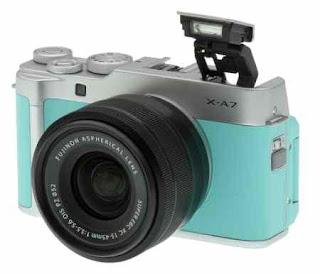Fujifilm Resmi Luncurkan Kamera Mirrorless X-A7