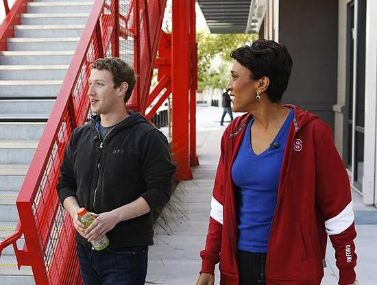 Mark Zuckerberg na BBC