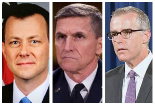 REPORT: Andrew McCabe Altered Peter Strzok's 302 Notes on General Flynn interview - Then Destroyed Evidence
