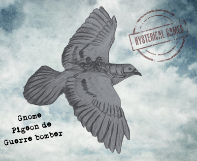 Pigeon de Guerre - one free to all Aces!
