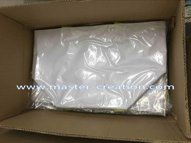 shopping bags in cartons