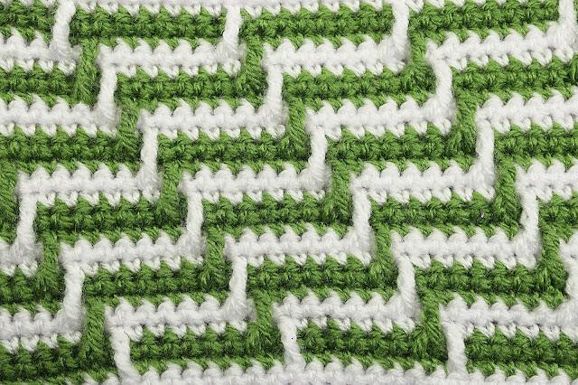 5 -Crochet Imagen Varioación de punto apache por Majovel Crochet