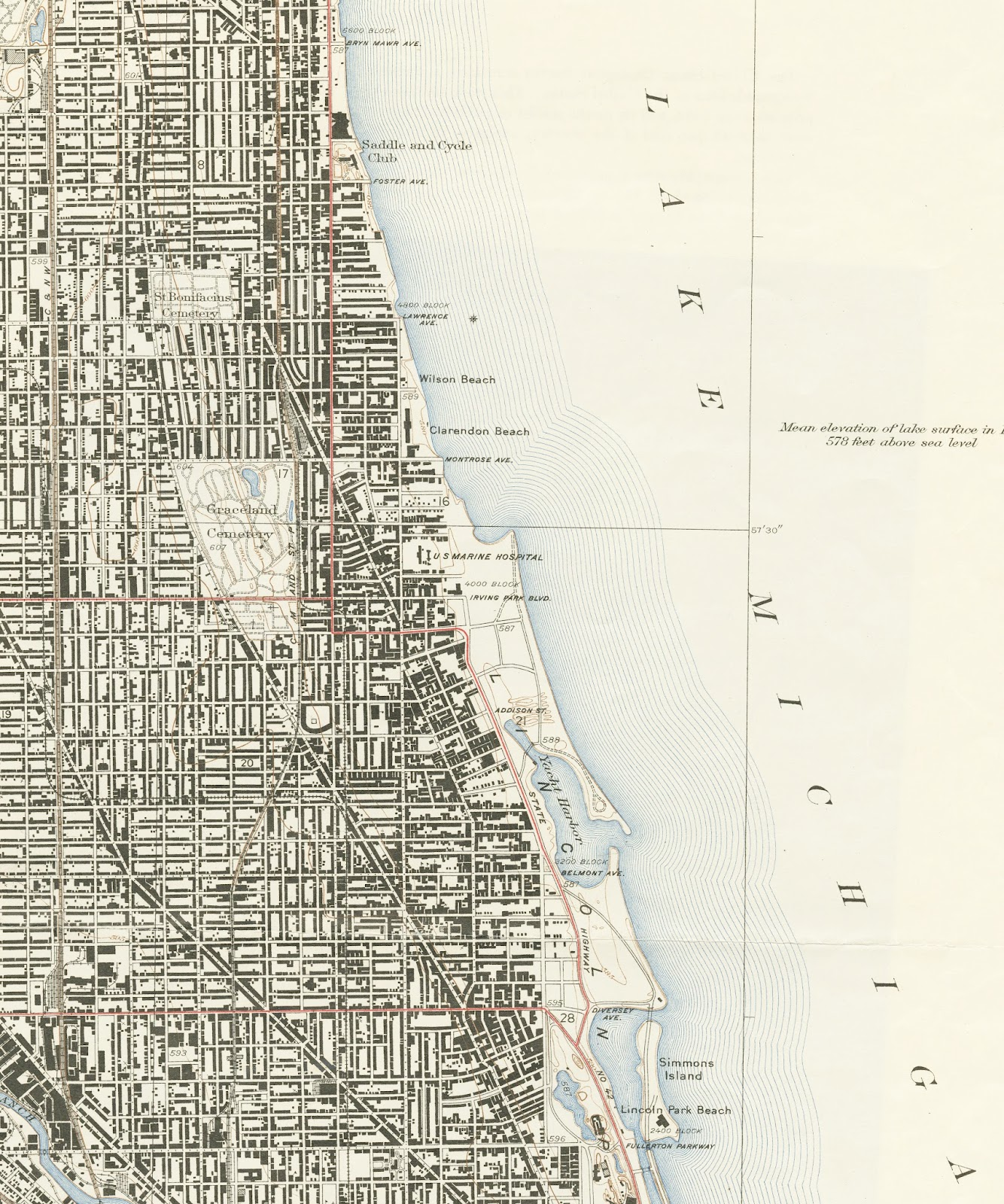 GIS Research and Map Collection Maps of Chicago Available from Ball